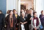 Участники «Слепухинских чтений–2014» на экскурсии по Музею-усадьбе Г. Р. Державина.