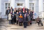 Участники «Слепухинских чтений-2014» после завершения Конференции в Музее-усадьбе «Рождествено».