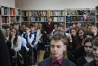 Участники встречи – старшеклассники г. Тосно