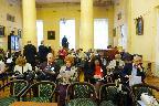 Участники конференции в Большом зале Пушкинского Дома