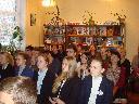 Участники читательской конференции во Всеволожске, посвященной 90-летию Юрия Слепухина. 11 ноября 2016 года.