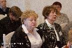 Участники конференции Е. П. Щеглова — член правления Союза писателей Санкт-Петербурга, Ю. В. Бельчич—кандидат исторических наук (Москва)