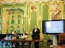 С докладом «Мировые войны в истории семьи Финне» выступает О. Е. Шитова-Белова (Санкт-Петербург)
