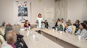 «Слепухинские чтения» в РНБ открыла заместитель генерального директора Е. А. Тихонова, слева Н. А. Слепухина