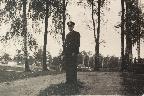 В.А. Шапарнёв. Сиверская. 1959 год. © М.А. Шапарнёва (Личный архив).